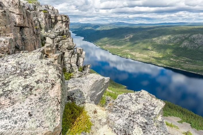 Spektakulære fjellformasjoner.